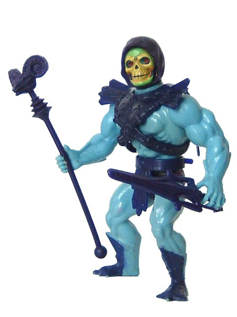 1982 Masters of the Universe Skeletor Half Boot Complete